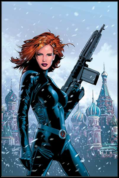 Image: Black Widow #1 (2004) - Marvel Comics