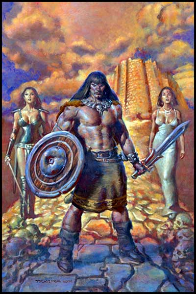 Image: Conan and the Daughters of Midora One-Shot  - Dark Horse