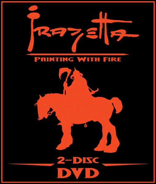 Image: Frazetta: Painting with Fire 2-Disc Special Ed. DVD  -