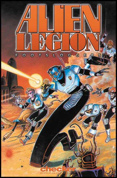 Image: Alien Legion: Footsloggers SC  - Checker Book Publishing Group