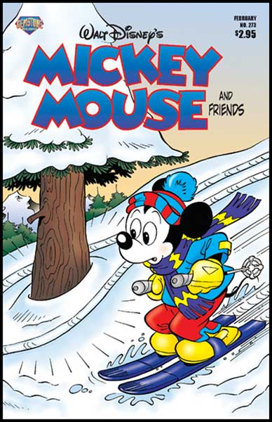 Image: Mickey Mouse and Friends #273 - Gemstone Publishing