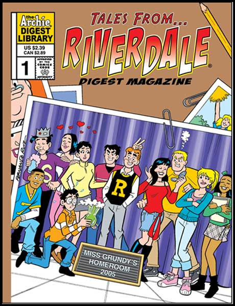 Image: Tales from Riverdale Digest #1 - Archie Comics Publications