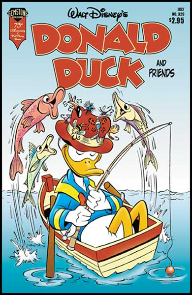 Image: Donald Duck and Friends #329 - Gemstone Publishing