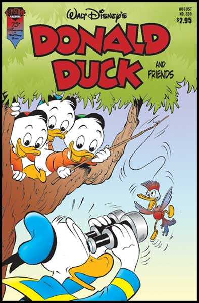 Image: Donald Duck and Friends #330 - Gemstone Publishing