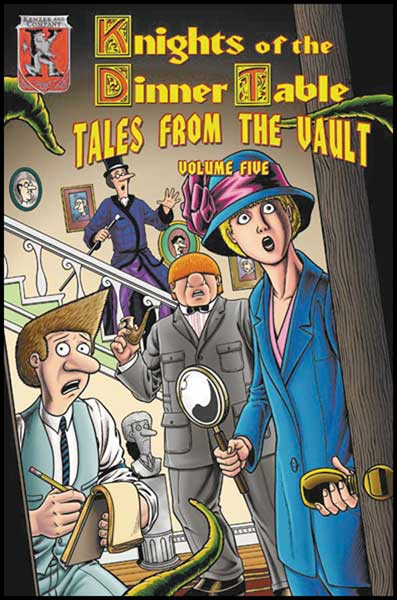 Image: Knights of the Dinner Table: Tales From the Vault Vol. 05 SC  - Kenzer & Company