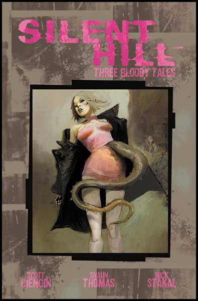 Image: Silent Hill Vol. 2: Three Bloody Tales SC  - IDW Publishing