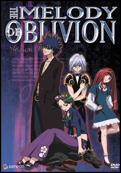 Image: Melody of Oblivion Vol. 4: Solo DVD  -