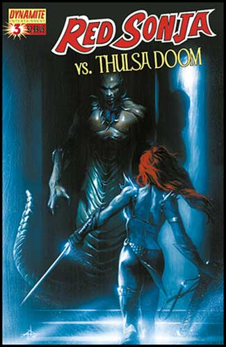Image: Red Sonja vs. Thulsa Doom #3 - D. E./Dynamite Entertainment