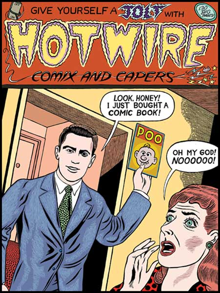 Image: Hotwire Comix and Capers GN  - Fantagraphics Books