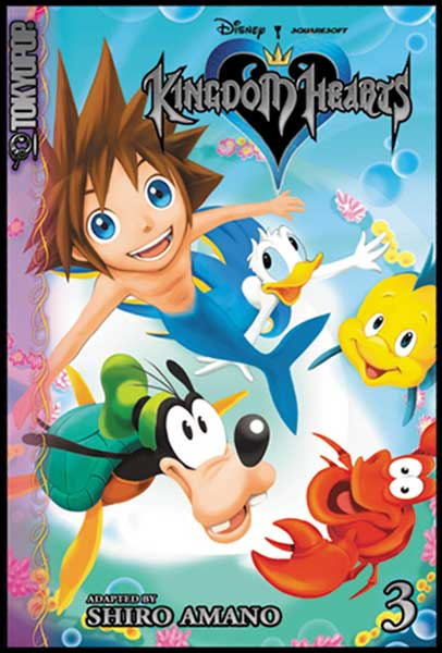 Image: Kingdom Hearts Vol. 3 SC  - Tokyopop