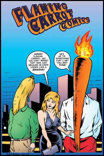 Image: Flaming Carrot Vol. 06 SC  (1st Image series) - Image Comics