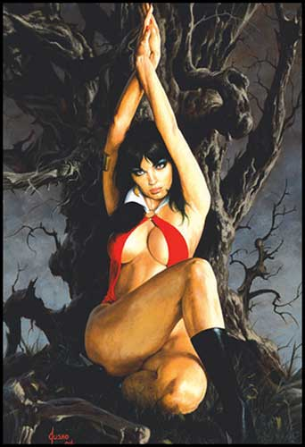 Image: Vampirella: Revelations Vol. 01 SC  - Anarchy Studios / Harris Comics