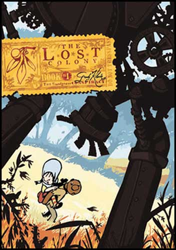 Image: Lost Colony Book 1: Snodgrass Conspiracy HC  - :01 First Second