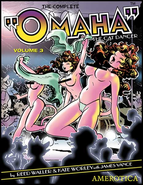 Image: Complete Omaha the Cat Dancer Vol. 3 SC  -