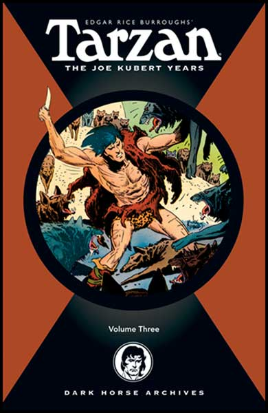Image: Tarzan: The Joe Kubert Years Vol. 03 HC  - Dark Horse Comics