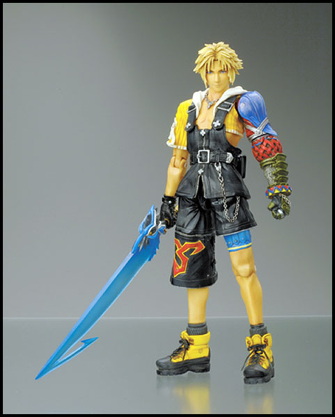 Image: Final Fantasy X Play Arts Action Figure: Tidus  -