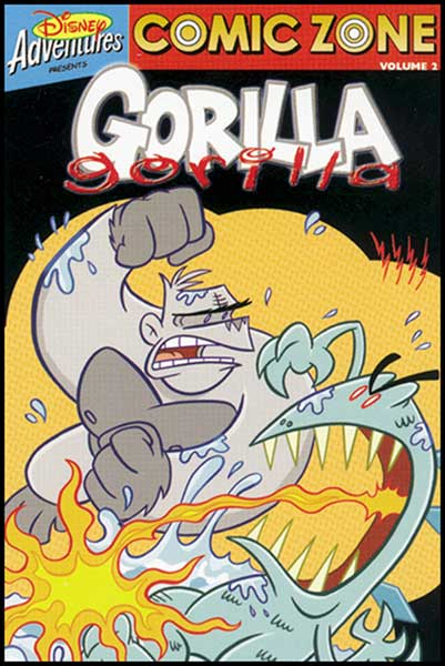 Image: Comic Zone Vol. 2: Gorilla Gorilla SC  - Disney Press