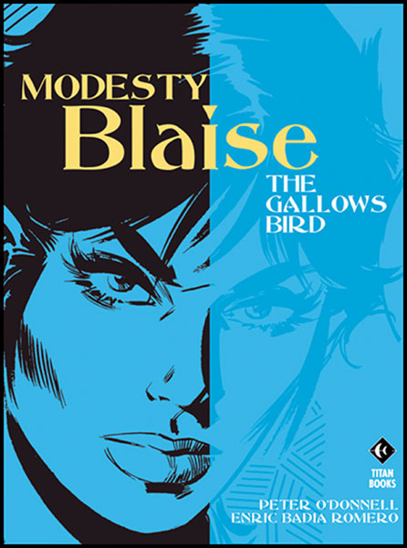 Image: Modesty Blaise: The Gallows Bird SC  - Titan Publishing