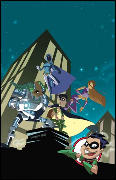 Image: Teen Titans Go! Vol. 04: Ready for Action SC  - DC Comics