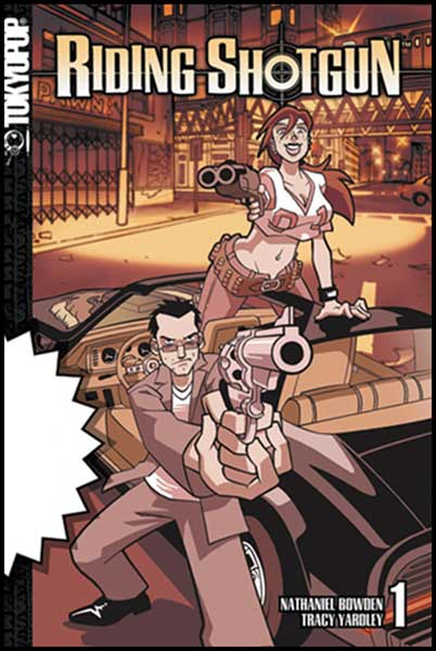 Image: Riding Shotgun Vol. 1 SC  - Tokyopop