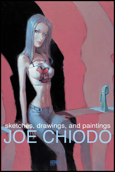 Image: Stetches Drawings & Paintings: Joe Chiodo SC  - Hermes Press
