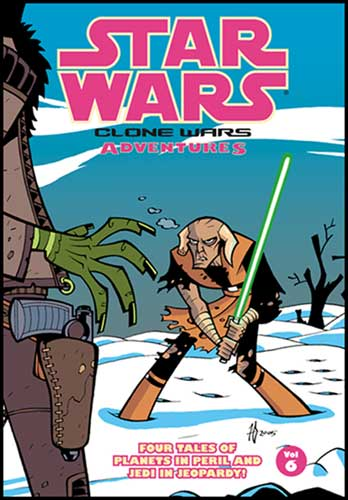 Image: Star Wars: Clone Wars Adventures Vol. 06 SC  - Dark Horse Comics