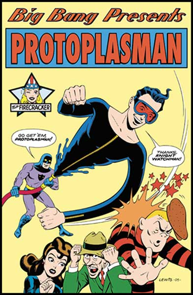 Image: Big Bang Presents: Protoplasman #1 - Big Bang Comics