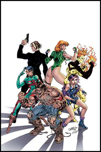 Image: Gen13: Who They Are and How They Came to Be SC  - DC Comics