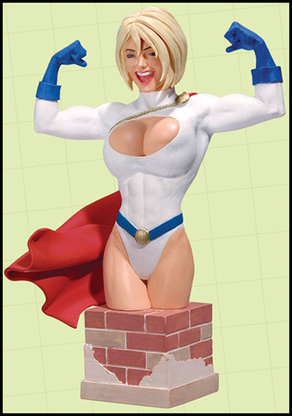Image: Women of the DC Universe Power Girl Bust  -