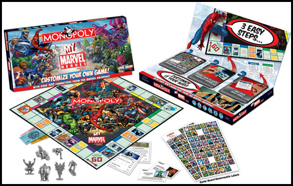 Image: My Marvel Heroes Edition Monopoly  - Marvel Comics