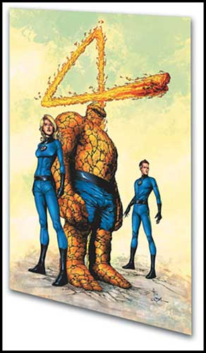 Image: Fantastic Four: Resurrection of Nicholas Scratch SC  - Marvel Comics