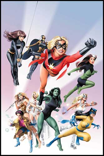 Image: Women of Marvel SC  - Marvel Comics