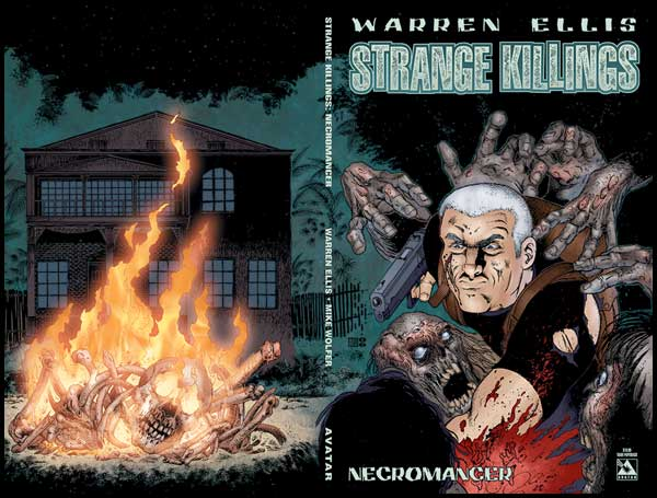 Image: Warren Ellis' Strange Killings: Necromancer SC  - Avatar Press Inc