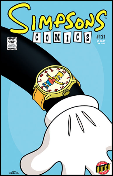 Image: Simpsons Comics #121 - Bongo Comics