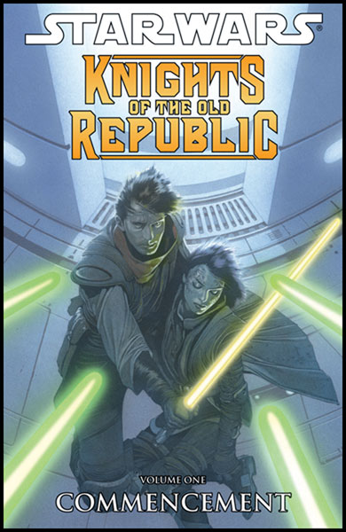 Image: Star Wars: Knights of the Old Republic Vol. 1 - Commencement SC  - Dark Horse Comics