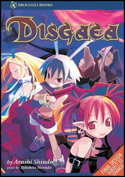 Image: Disgaea Manga SC  - Broccoli International