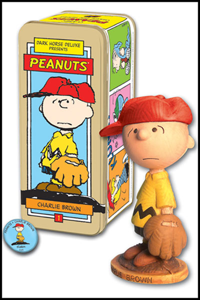 Image: Classic Peanuts Character Statue #1: Charlie Brown  -
