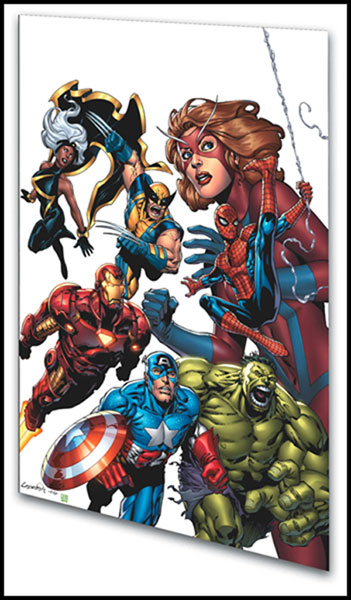 Image: Marvel Adventures Avengers Vol. 1: Heroes Assembled  (digest) - Marvel Comics