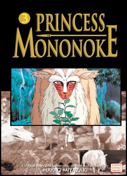 Image: Princess Mononoke by Hayao Miqazaki Film Comic Vol. 03 SC  - Viz Media LLC