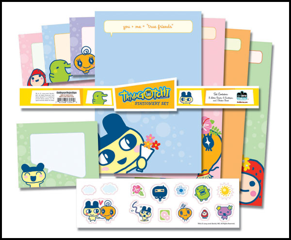 Image: Dark Horse Deluxe Stationery Set: Tamagotchi  - Dark Horse Comics