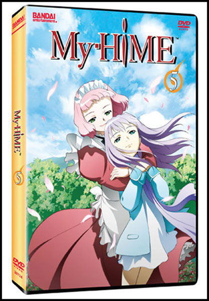 Image: My-Hime Vol. 05 DVD  -