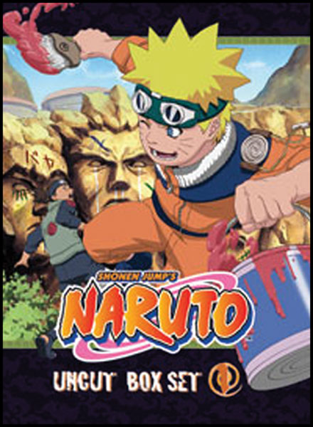 Image: Naruto Vol. 02 Box Set - Uncut  (DVD) -