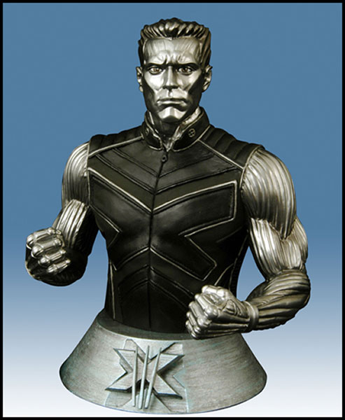 Image: X-Men 3 Movie Colossus Bust  - Marvel Comics