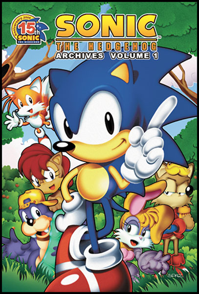 Image: Sonic the Hedgehog Archives Vol. 01 SC  - Archie Comic Publications