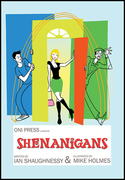 Image: Shenanigans SC  - Oni Press Inc.