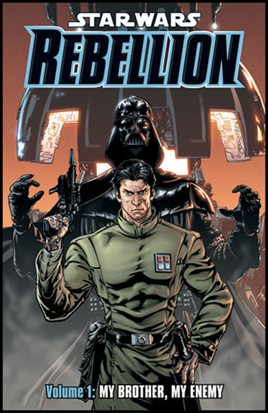 Image: Star Wars: Rebellion Vol. 01 - My Brother My Enemy SC  - Dark Horse Comics