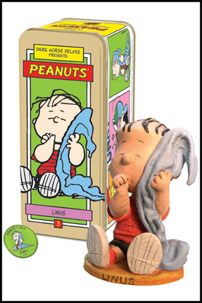 Image: Classic Peanuts Character Statue #3: Linus  -