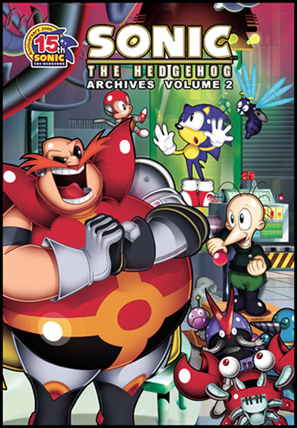 Image: Sonic the Hedgehog Archives Vol. 02 SC  - Archie Comic Publications