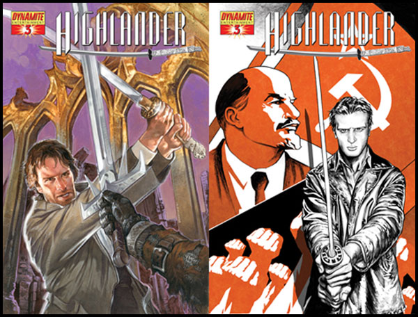 Image: Highlander #3 - D. E./Dynamite Entertainment