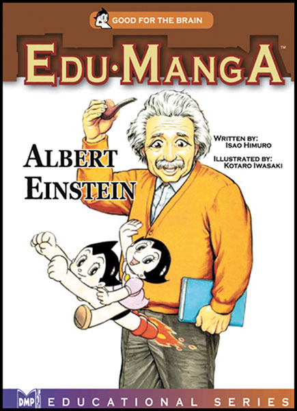 Image: Edu-Manga: Albert Einstein SC  - Digital Manga Distribution
